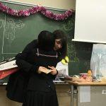 留学生のフランシスカさん帰国